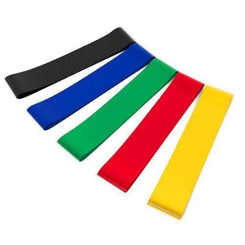 Резинки для фитнеса различной нагрузки (5 шт)