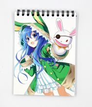 Мини Скетчбук по аниме Рандеву с Жизнью / Date a Live sketchbook