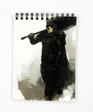 Мини Скетчбук по аниме Берсерк / Berserk sketchbook