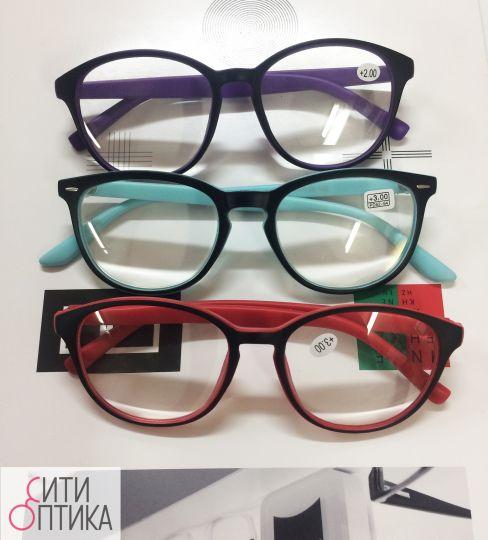 Круглые готовые очки 9505