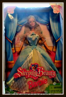 Коллекционная кукла Барби как Спящая Красавица Barbie as Sleeping Beauty