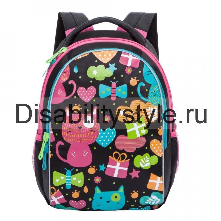 662644f85f13 Рюкзак для девочек GRIZZLY RG-868-1 150683-0002