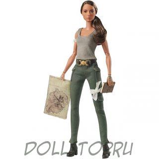 Коллекционная кукла Барби Расхитительница гробниц - Tomb Raider Barbie Doll