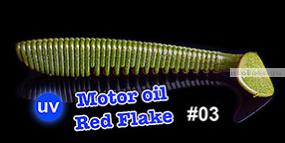 Мягкая приманка Redbug VibroWorm Fat 95 мм / упаковка 4 шт   / цвет:03