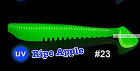 Мягкая приманка Redbug VibroWorm Fat 95 мм / упаковка 4 шт   / цвет:23