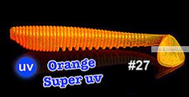 Мягкая приманка Redbug VibroWorm Fat 95 мм / упаковка 4 шт   / цвет:27