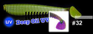 Мягкая приманка Redbug VibroWorm Fat 95 мм / упаковка 4 шт   / цвет:32