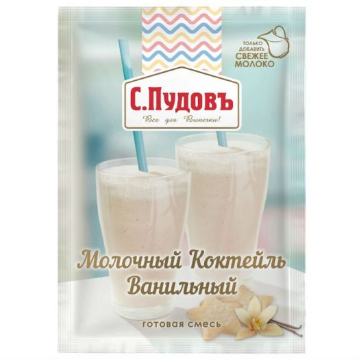 ПУДОВ Коктейль молочный ВАНИЛЬНЫЙ 30 г