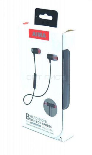 AIMA AM-2211A наушники вакуум - гарнитура (Bluetooth)