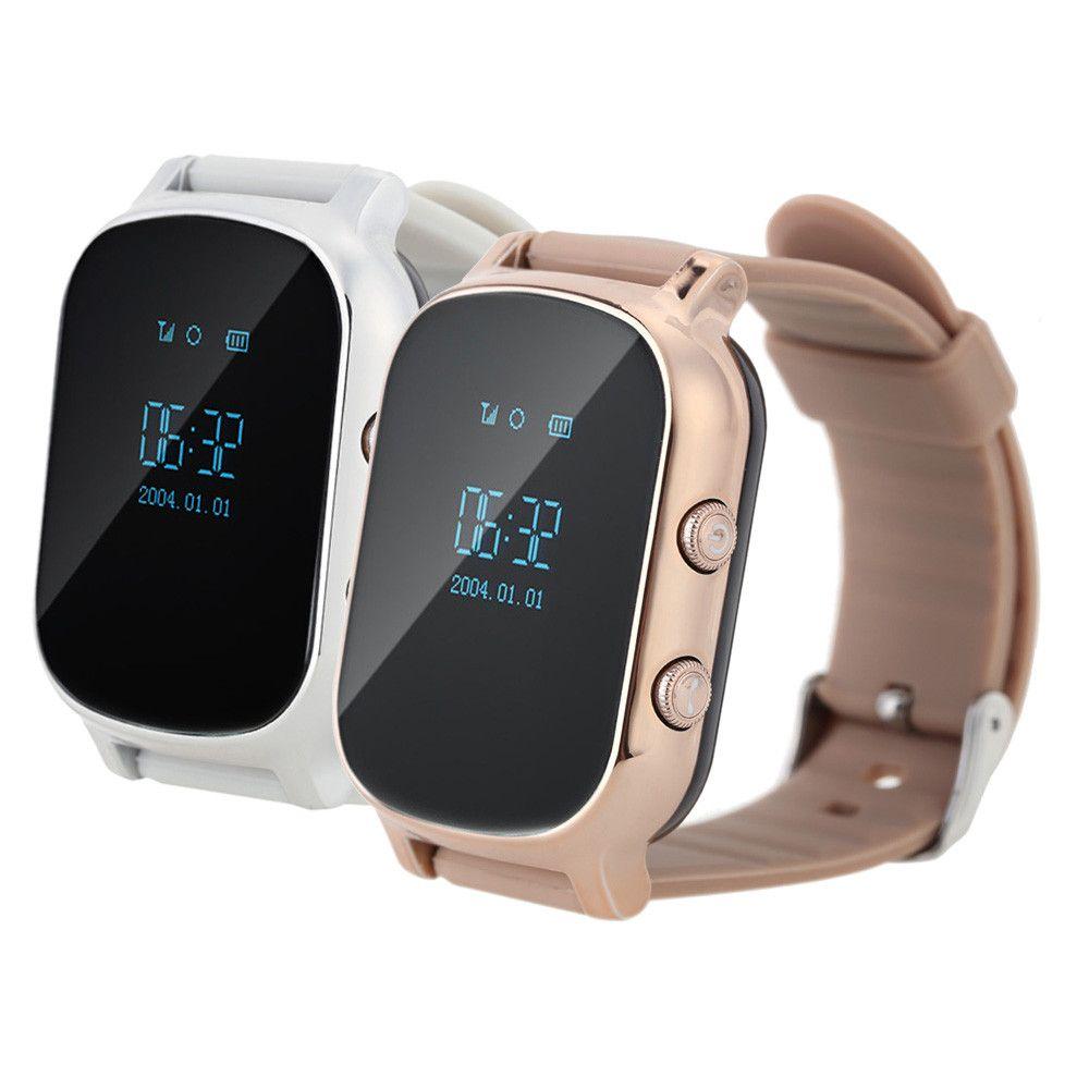 Умные детские часы с GPS Smart Baby Watch T58