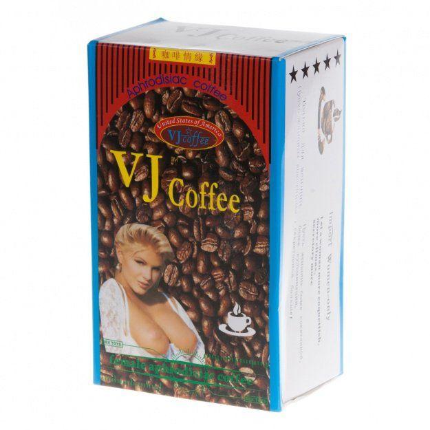 Vj возбуждающий кофе