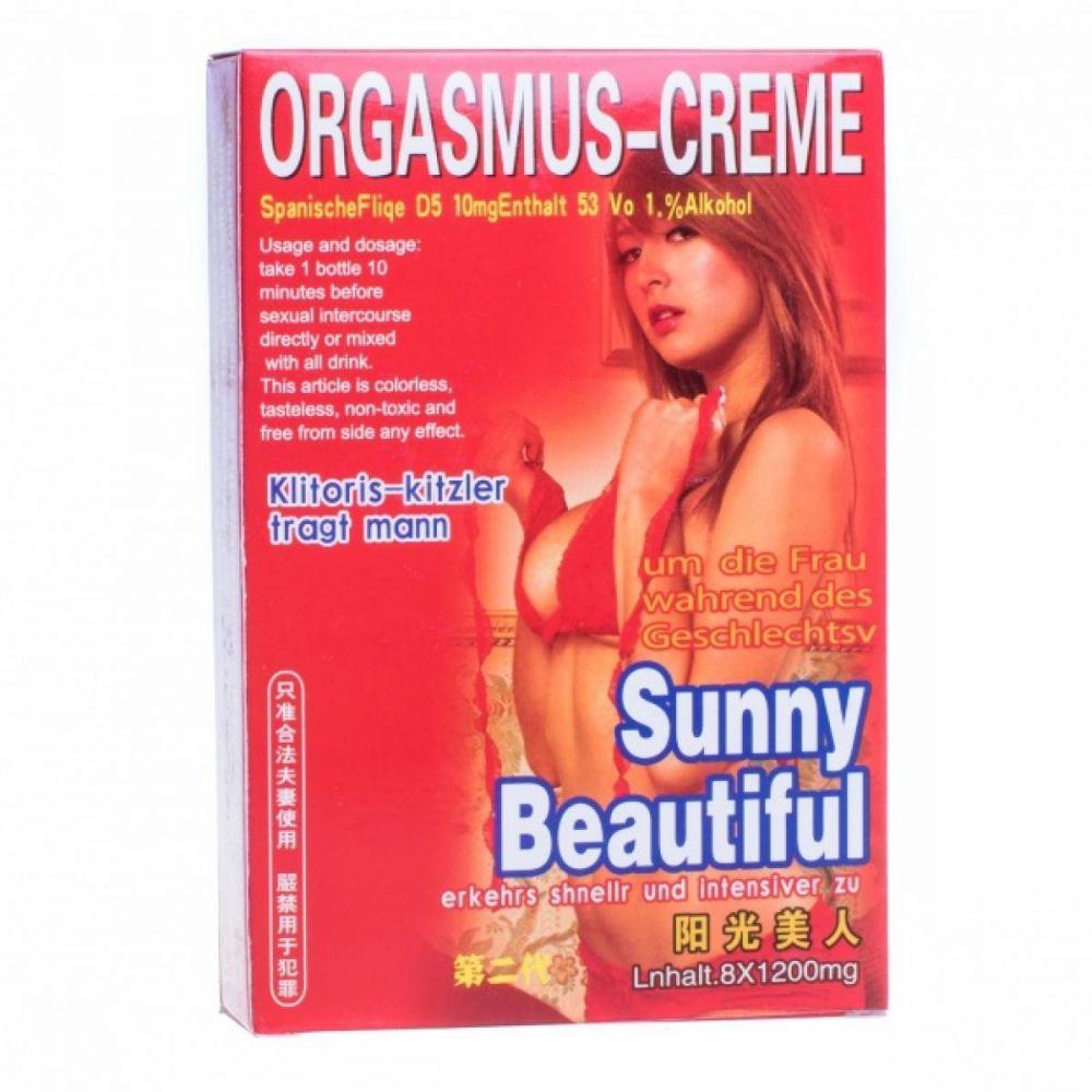 Возбуждающие капли Orgasmus-creme Sunny beautiful