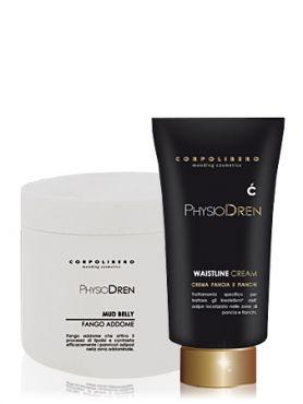 Corpolibero Waistline Cream+Mud Belly Крем уменьшающ.объемы талии и Грязевое обертывание д/живота