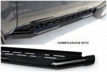 Подножки боковые, Omsaline, серия Amazon, черная сталь ф 76мм