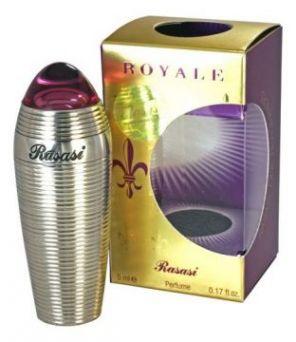 Духи натуральные масляные ROYALE (Королевский), жен, 5мл, Rasasi, ОАЭ