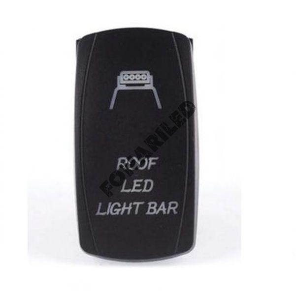 Кнопка включения с подсветкой ROOF LED LIGHT BAR