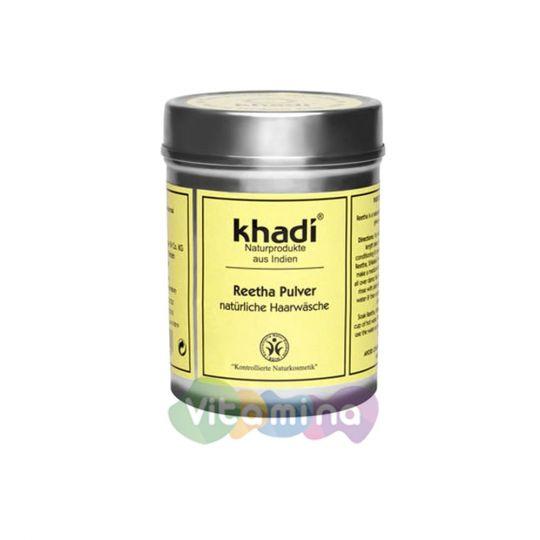 Khadi Порошок-маска для волос «Мыльный орех», 150 г