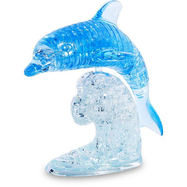 Головоломка 3D Дельфин синий Эврика