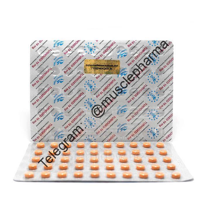 TURHOGED EPF (ТУРИНАБОЛ). EPF SRL. 100 таб. по 10 мг.