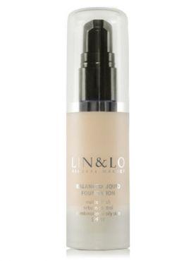 LIN&LO Тональная основа с матирующим эффектом LLFR02 светло-золотистый