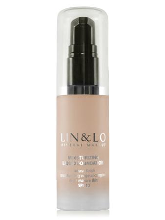 LIN&LO Тональная основа увлажняющая LLFH09 соломенный бежевый