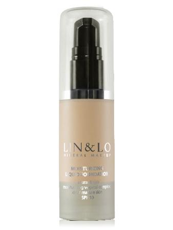 LIN&LO Тональная основа увлажняющая LLFH06 нюдовый бежевый