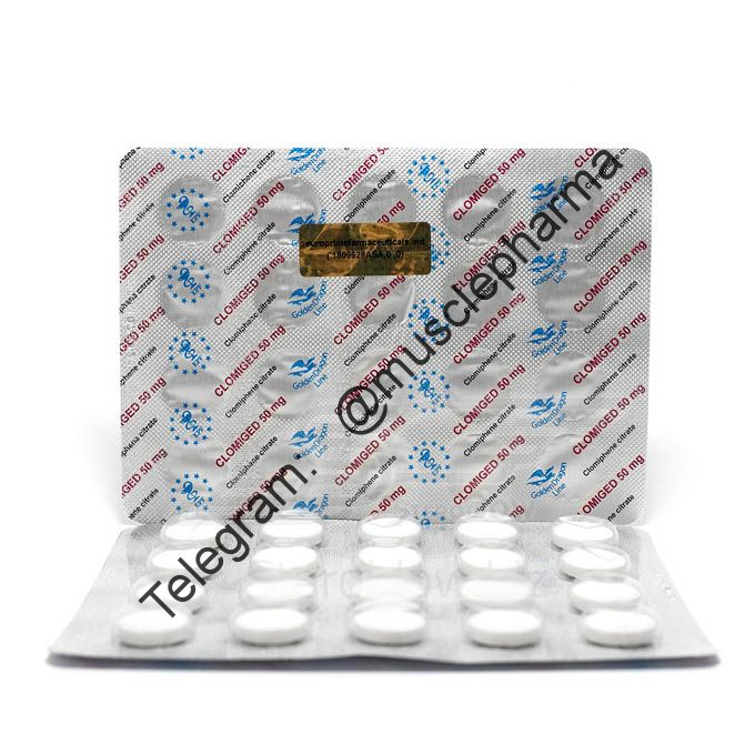 CLOMIGED EPF (КЛОМИД). EPF SRL. 20 таб. по 50 мг.
