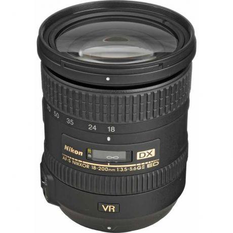 Объектив Nikon 18-200mm f/3.5-5.6G ED AF-S VR II DX Zoom-Nikkor