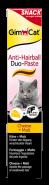 GimCat Anti-Hairball Duo-Paste Паста для вывода комков шерсти с сыром и солодом (50 г)