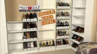 Двойная подставка для хранения обуви (3)
