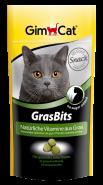 GimCat GrasBits Подкормка с травой (40 г)