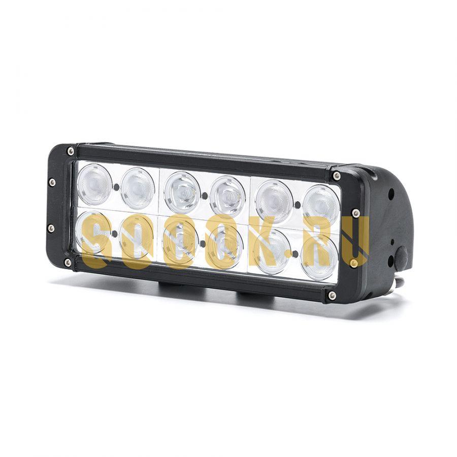 Двухрядная светодиодная LED балка 120W CREE комбинированного света