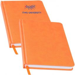 заказать оранжевые ежедневники оптом