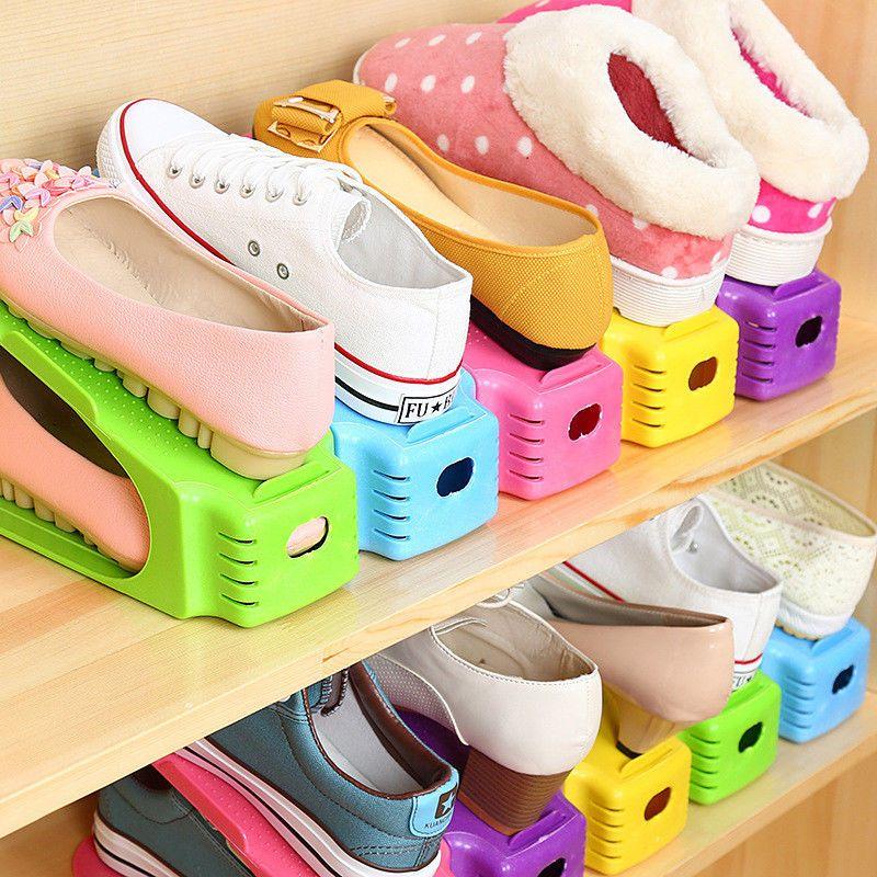 Подставки для хранения обуви Double Shoe Racks, 1 шт