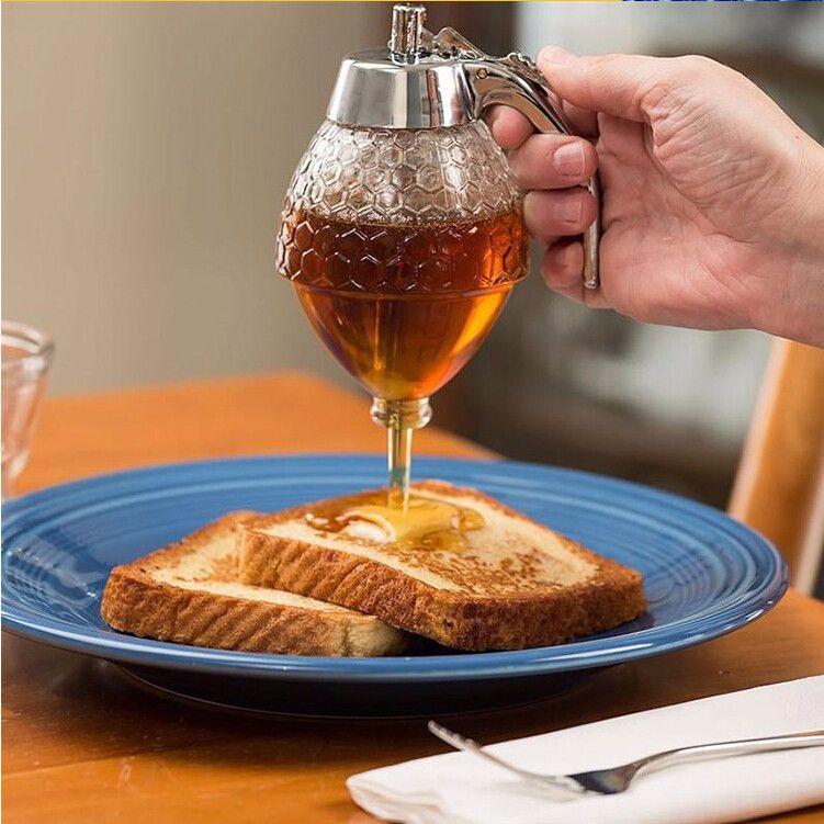 Акриловый диспенсер для меда Honey Dispenser, 200 мл