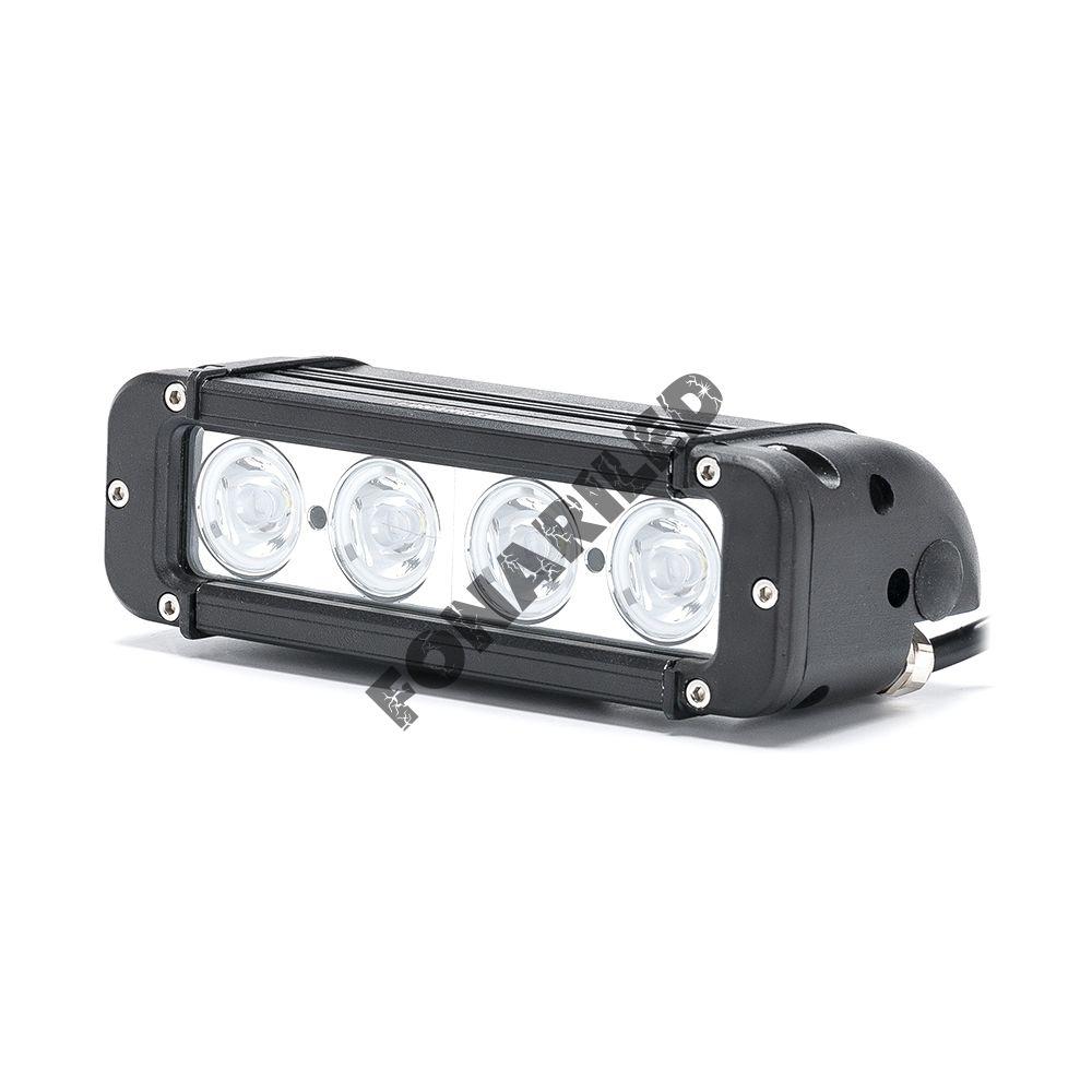 Однорядная LED Балка OCQ-40W spot дальний свет (длина 20 см, 8 дюймов)