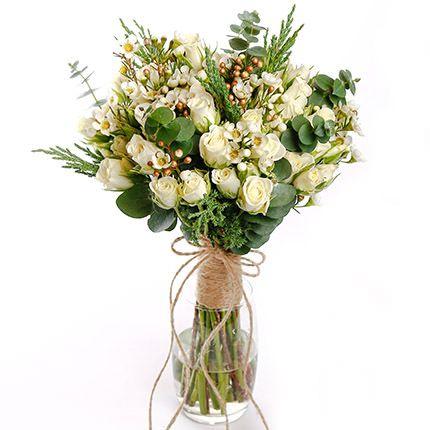 Букет невесты  «Воплощение нежности»