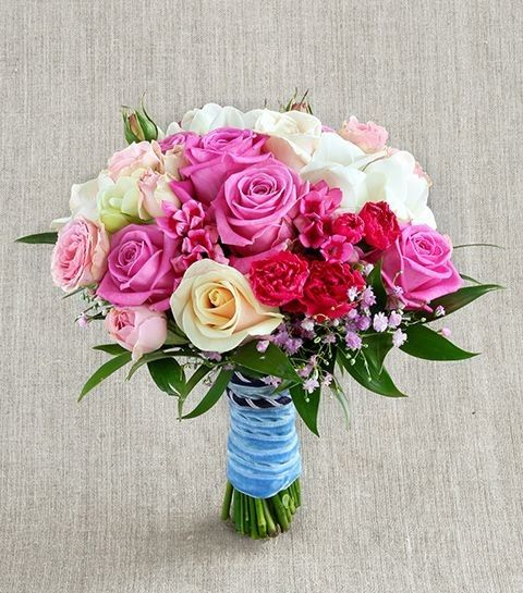 Классический букет невесты «Классическая свадьба»