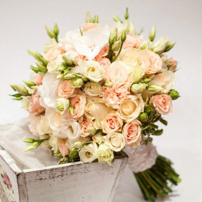 Винтажный букет невесты «Винтажная свадьба»