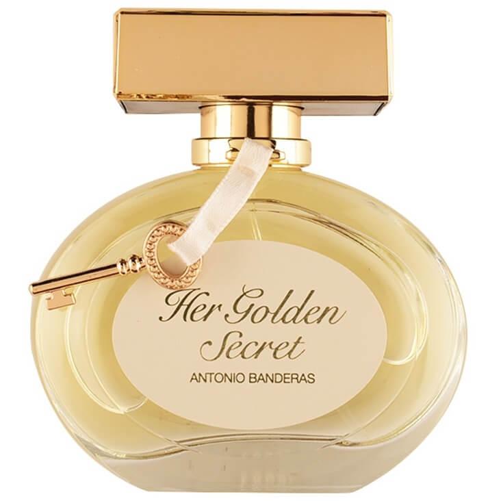 Antonio Banderas Туалетная вода Her Golden Secret, 80 ml