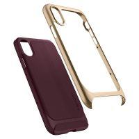 Чехол Spigen Neo Hybrid для iPhone X бордовый