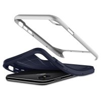 Чехол Spigen Neo Hybrid для iPhone X серебристый