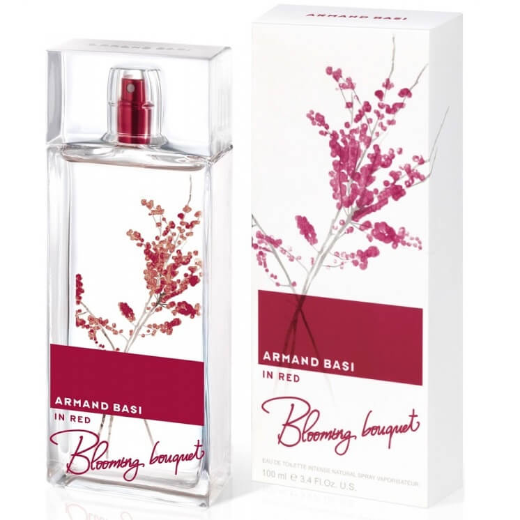 Armand Basi Туалетная вода In Red Blooming Bouquet, 100 ml