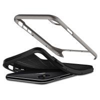 Чехол Spigen Neo Hybrid для iPhone X стальной