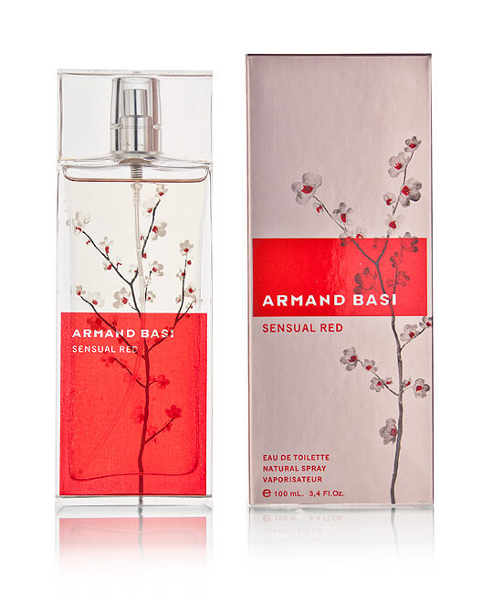 Armand Basi Туалетная вода Sensual Red, 100 ml