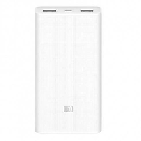 Повер банк Power Bank Xiaomi Mi 20000 мАч белый