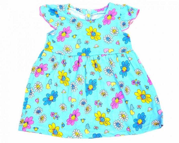 Платье с кокеткой сзади застежка C-PL028(k)-SUr (супрем)