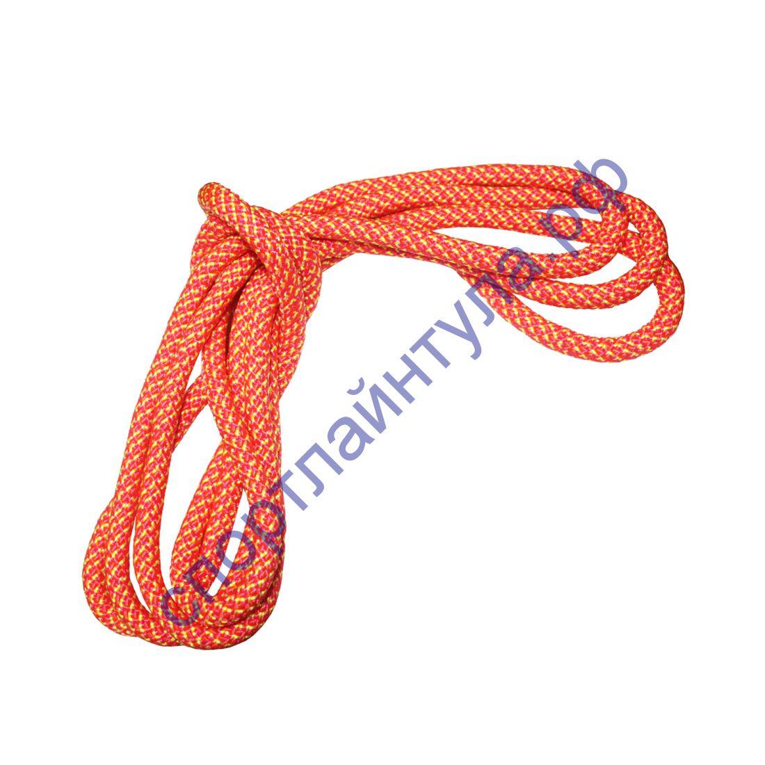 Скакалка гимнастическая BF-SK07 Радуга 2,5 м, 150 гр.
