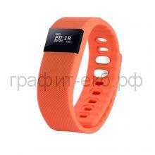 Смарт браслет PortobelloTrend The One оранжевый электронный дисплей, силикон SB1701-070