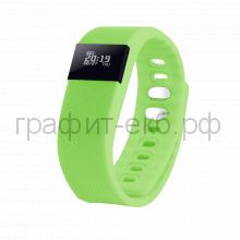 Смарт браслет PortobelloTrend The One зеленый электронный дисплей, силикон SB1701-040